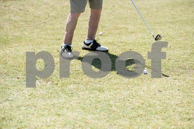 JW Gresham, 97, golfs during the Sharon Shriners Golf Tournament on April 7, 2017 at Pine Springs Golf Club in Tyler.  (Sarah A. Miller/Tyler Morning Telegraph)