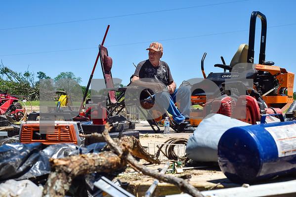 East Texas Tornado Damage