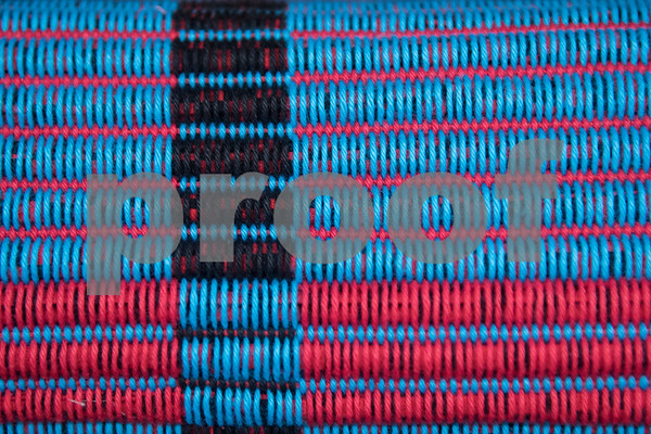 A close-up section of a woven rug is seen Wednesday May 10, 2017 at the Mineola League of the Arts. The center has a new fiber arts building were people can learn the art of weaving and other fiber arts.   (Sarah A. Miller/Tyler Morning Telegraph)