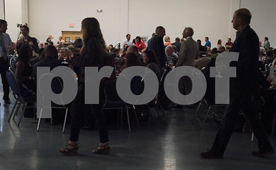 Over 500 people attend the State of the City Address at Harvey Hall Convention Center Wednesday May 17, 2017.  (Sarah A. Miller/Tyler Morning Telegraph)