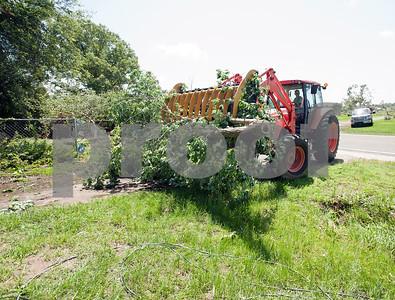 Henderson Texas Tornado Damage