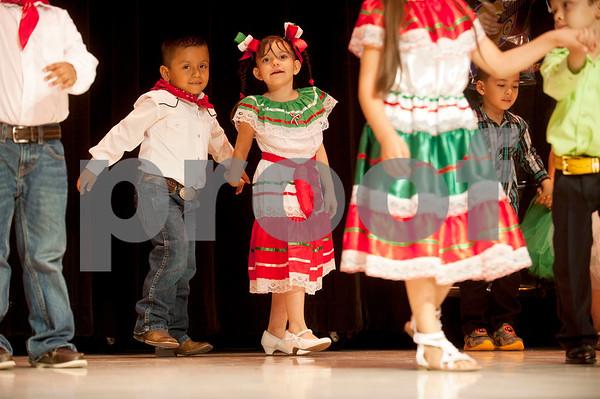 Cinco de Mayo program at Bonner Elementary Tuesday May 5.  (photo by Sarah A. Miller/Tyler Morning Telegraph)