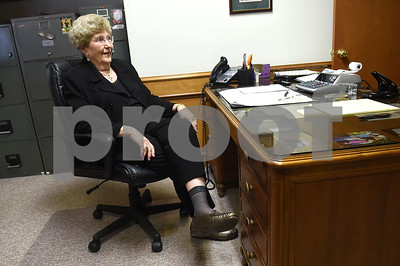 Certified Roses, Inc. president Shirley Staples is pictured in her office in Tyler June 24, 2016. Staples is retiring after 56 years with the company.   (Sarah A. Miller/Tyler Morning Telegraph)