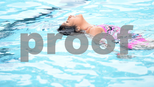 Angela Crispin, 10, swims at Fun Forest pool, 900 N. Glenwood Blvd., which opened Saturday June 4, 2016. This free city pool will be open from June 4 to Aug. 13 Tuesdays through Thursdays from 1 to 6 p.m. and Fridays and Saturday from 1 to 7 p.m. for open swim. Lap swim is available on Tuesdays and Thursdays from 6 to 8 p.m. The City of Tyler Parks and Recreation Department is still looking for qualified lifeguards to work at both Fun Forest and Woldert pools.  (Sarah A. Miller/Tyler Morning Telegraph)