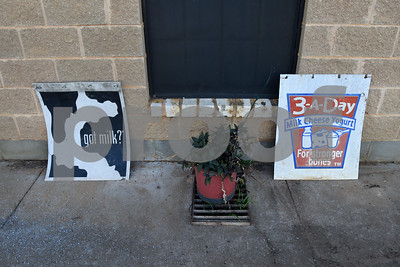 Sign promoting milk sit outside the store at Jersey Girls Milk Company in Winnsboro Tuesday June 7, 2016.  (Sarah A. Miller/Tyler Morning Telegraph)