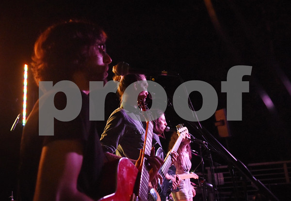 Tyler-based indie rock band Babe performs at Juls Saturday July 30, 2016. Babe will be in concert Saturday August 6 with O-Ren, Kinfolk, and Out of the Question at 7p.m. at The Fish House, 3708 Shiloh Road in Tyler.   (Sarah A. Miller/Tyler Morning Telegraph)