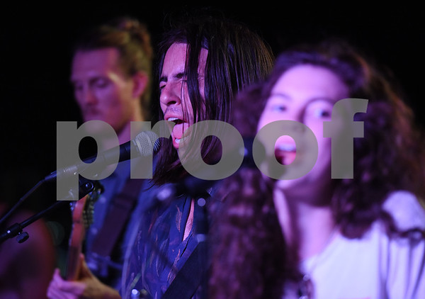 Jonathan David Wilson, Julian Marcos Hood and Evan Manning perform as Tyler-based indie rock band Babe at Juls Saturday July 30, 2016. Babe will be in concert Saturday August 6 with O-Ren, Kinfolk, and Out of the Question at 7p.m. at The Fish House, 3708 Shiloh Road in Tyler.   (Sarah A. Miller/Tyler Morning Telegraph)