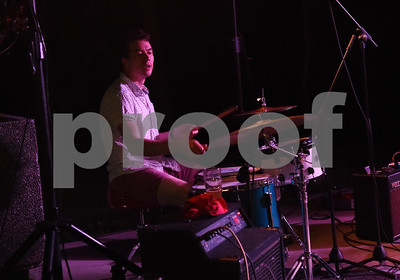 Eric Meeks plays the drums with Tyler-based indie rock band Babe perform at Juls Saturday July 30, 2016. Babe will be in concert Saturday with O-Ren, Kinfolk, and Out of the Question at 7p.m. at The Fish House, 3708 Shiloh Road in Tyler.   (Sarah A. Miller/Tyler Morning Telegraph)