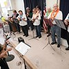 BEN GARVER — THE BERKSHIRE EAGLE<br /> The North Berkshire  Ukulele Club played in the the 7th Annual Froio Variety Show at the senior center in Pittsfield.