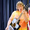 """BEN GARVER — THE BERKSHIRE EAGLE<br />  """"Jambalaya (On the Bayou)""""  performed by Kathaleen Mogul during the 7th Annual Froio Variety Show. Note special spelling of Kathaleen"""