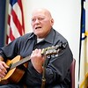 BEN GARVER — THE BERKSHIRE EAGLE<br /> Mike Ancara  played a selection of Country music in the the 7th Annual Froio Variety Show at the senior center in Pittsfield.