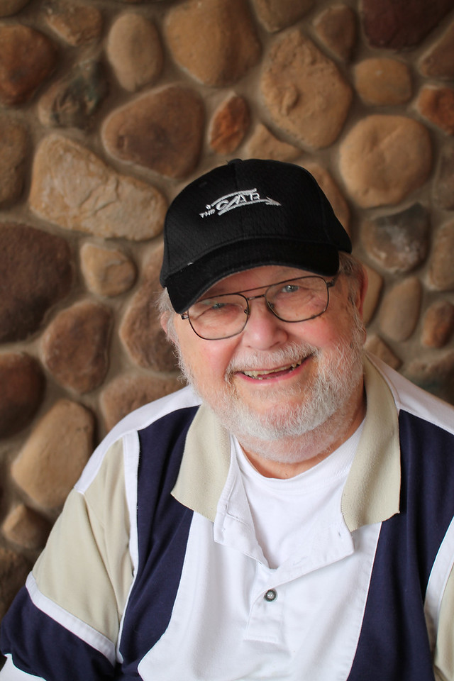 "LAWRENCE PANTAGES / GAZETTE Retired Cavs radio announced Joe Tait immediately put on a new cap Saturday given as an 80th birthday present by former Cleveland coach Mike Fratello. The wording on the cap says ""The Czar,"" a tribute to Fratello's nickname when he worked as a television analyst."