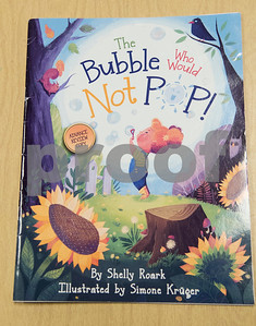 """Tyler author Shelly Roark wrote the children's book """"The Bubble Who Would Not Pop.""""   (Sarah A. Miller/Tyler Morning Telegraph)"""