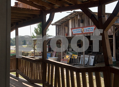 Buildings are pictured at Yesterland Farm in Canton  Sept. 14, 2017. The farm is hosting their Grand Re-Opening weekend Sept. 23 and 24. The facility has been updated throughout the summer after a tornado hit the property on Interstate 20 in April 2017.  (Sarah A. Miller/Tyler Morning Telegraph)