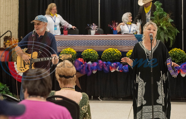 The musical group Bongo and the Point performs during Senior Day at the East Texas State Fair on Friday Sept. 20, 2019.  (Sarah A. Miller/Tyler Morning Telegraph)