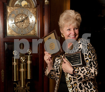 copyright 2012 Sarah A. Miller/Tyler Morning Telegraph  JuneAnn Brown, 65, of Tyler, is a competitor in senior pageants.