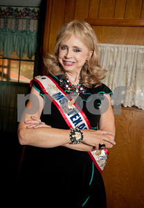 copyright 2012 Sarah A. Miller/Tyler Morning Telegraph  Dr. Syntha West, 73, of Tyler, wears her sash from winning Ms. Texas Senior America 2008.