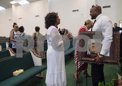 Memorial for Flood Victim Ruben Jordan