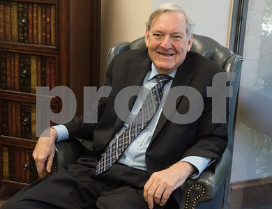 Don Kent is a Board Certified Personal Injury Trial Law attorney. He was recently diagnosed with Lewy Body Dementia. He is pictured at his law office in Tyler Wednesday June 7, 2017.  (Sarah A. Miller/Tyler Morning Telegraph)