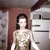 Carol Ramsey in 1966 dressed up for a dance in her home at 538 Lakeway Drive in Pittsfield.