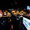 KRISTOPHER RADDER — BRATTLEBORO REFORMER<br /> Brattleboro Police Officer Brad Penniman drives up Main Street in Brattleboro on Sept. 5, 2018.