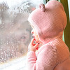 KRISTOPHER RADDER — BRATTLEBORO REFORMER<br /> Maeve Franklin, 2, of Brattleboro, looks out the window as the Green Mountain Flyer train travels from Bellows Falls to the North Pole (Chester, Vt., train station) on Sunday, Nov. 24, 2019.