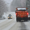 KRISTOPHER RADDER — BRATTLEBORO REFORMER<br /> A messy winter storm hits the area creating a heavy mixture of sleet and ice on Monday, Dec. 30, 2019.