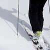 "Scott Toepfer skis into the backcountry on Wednesday, Feb. 22, on Wheeler Trail in Breckenridge. Toepfer works for the Colorado Avalanche Information Center and was heading to Francie's Cabin to check conditions above tree line. For more photos and video of the avalanche forecasting go to  <a href=""http://www.dailycamera.com"">http://www.dailycamera.com</a><br /> Jeremy Papasso/ Camera"