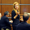 """Abby Toll reads a statement before her sentencing.<br /> Abby Toll  was  taken into custody after sentencing. She will spend 30 days in jail for and 3 years probation for  felony animal cruelty. For more photos, go to  <a href=""""http://www.dailycamera.com"""">http://www.dailycamera.com</a>. <br />  Cliff Grassmick / July 9, 2010"""