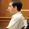 "Adam Raszynski listens to CBI investigator, Amy Miller, thursday afternoon.<br /> The  second day of the murder trial of Adam Raszynski continues in Boulder County Court. For more photos of the trial, go to  <a href=""http://www.dailycamera.com"">http://www.dailycamera.com</a>.<br /> March 15, 2012 / Cliff Grassmick"