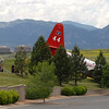 This air tanker, based in Missoula, Montana, came to a stop on 120th Street after going off the runway.<br /> The crash of an air tanker at Rocky Mountain Metropolitan Airport Saturday afternoon has prompted officials to shut down its slurry resupply operation at the Broomfield airport for at least the rest of the day, a decision that could hamper efforts to battle an 800-acre wildfire in Rocky Mountain National Park.<br /> Cliff Grassmick / June 26, 2010