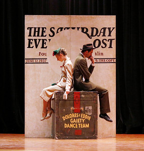 Albany Berkshire Ballet performs Norman Rockwell inspired dance at Reid Middle School-101316