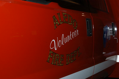 Aledo VFD Housing Ceremony