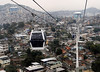 Authorities open to visit for journalists the new cable car in Complexo do Alemao slum, Rio de Janeiro, Brazil, July 5, 2011. The cable car in the Complexo do Alemao will be inaugurated next July 7 by Brazilian president Dilma Roussef. (Austral Foto/Renzo Gostoli)