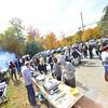 KRISTOPHER RADDER — BRATTLEBORO REFORMER<br /> Apple pies bring people flocking to Dummerston, Vt., for the 50th annual Dummerston Apple Pie Festival on Sunday, Oct. 13, 2019.