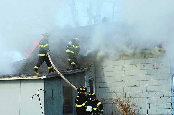 A malfunctioning electric cord is the cause of the fire that destroyed this Advance home Thursday.