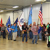 Rod Rose The Lebanon Reporter<br /> GRAND ENTRY BEGINS: The 35th annual American Indian Council's traditional Pow Wow officially began at 1 p.m. Saturday with the presentation of flags representing the U.S., tribal organizations and the armed forces.
