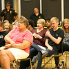 LHS STUDENTS, FAMILIES MOURN DURING 'EVERY 15 MINUTES' CEREMONY<br /> Elizabeth Pearl | The Lebanon Reporter<br /> CONVOCATION: Friends and families members of the voluntary victims at the convocation on Friday morning.