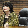 Globe/T. Rob Brown<br /> Linda Dean, R.N., whose husband had a kidney donated, is the director of clinical operations for Freeman Health System and is also on the organ donor council. She sits in an office Monday morning, April 16, 2012, at Freeman.