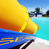 Globe/T. Rob Brown<br /> The Rosedale Private Swimming Pool's newest addition as seen Tuesday afternoon, April 24, 2012.