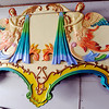 Globe/T. Rob Brown<br /> Part of a carousel painted by Ed Hardesty, of Carthage, Tuesday morning, April 17, 2012, in Carthage.