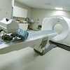 Globe/Roger Nomer<br /> A new CT Scanner at Mercy Hospital.