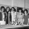 THE GOSHEN NEWS | October 15, 1971<br /> The 1972 officers of the Elkhart County Extension Homemakers Club installed last evening are, from left to right, Mrs. Orval Bontrager , president; Mrs. Robert Hawkins, vice president; Mrs. James Galt, secretary; Mrs. John Hoover, treasurer; and Mrs. Lowell Maust, advisor.