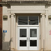 SAM HOUSEHOLDER | THE GOSHEN NEWS<br /> The doors to Chamberlain Elementary School are shown. The school received a $1.75 million grant for improvements.