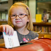 JAY YOUNG | THE GOSHEN NEWS<br /> Four-year-old Abigail Simons, of Goshen, drops her letter to Santa off at the Goshen Public Library, 601 S Fifth St. Abigail attends Brenneman Day Care Ministry, 61115 SR 15. Her parents are Nathan and Ellen Simons.