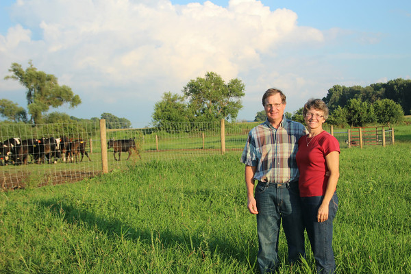 SHERRY VAN ARSDALL | THE GOSHEN NEWS<br /> Mike and Sue Martin of Wakarusa has been selected as Elkhart County Agricultural Soceity's 2014 Farm Family of the Year.