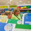 SAM HOUSEHOLDER | THE GOSHEN NEWS<br /> Tina Frye and her daughter Nicole, 12, who is entering the seventh grade at Northridge Middle School, walk through an asile at Target Tuesday while back to school shopping.