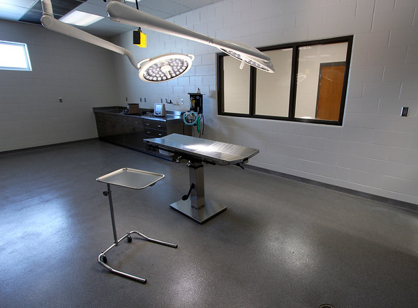 JOHN KLINE | THE GOSHEN NEWS<br /> This new animal surgery room is part of Fairfield High School's recently completed animal science wing, one of several new additions to the school set to be unveiled to the public during a special open house at 1 p.m. Sunday.