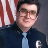 PHOTO CONTRIBUTED<br /> Dave Zollinger in his younger years as a Goshen police officer.