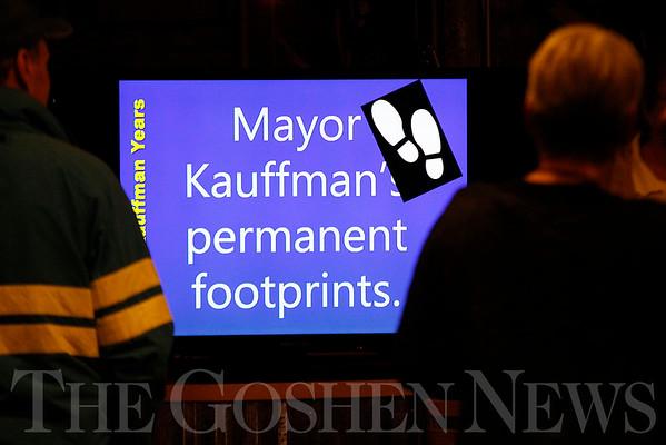 Reception for former Goshen Mayor Allan Kauffman